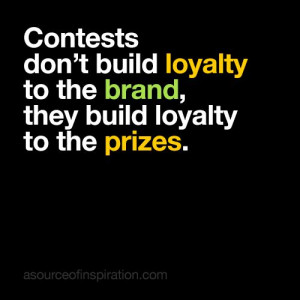 brand #loyalty #prizes