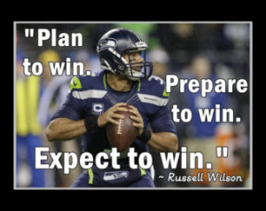 Russell Wilson Leadership Photo Quo te Poster Seahawks Wall Art 5x7 ...