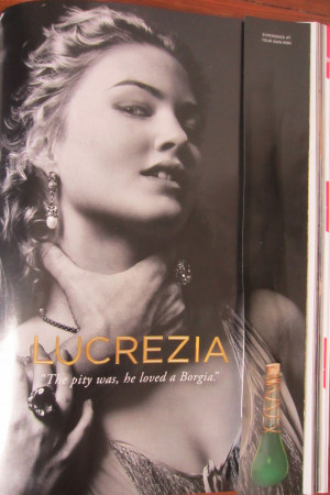 Experience at your own risk: Lucrezia, and other dangerous scent ...