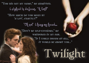 Here are quote boxes from the Twilight Saga.