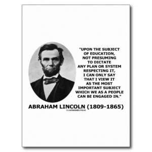 Lincoln The Country That...