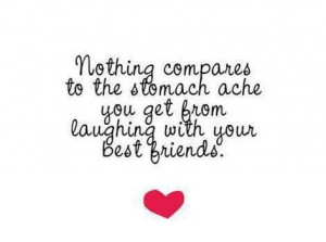 Nothing compares to the stomach ache you get from laughing with your ...