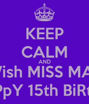 Happy 15Th Birthday 04