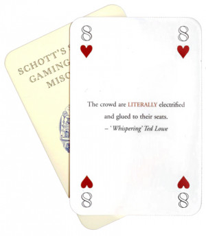 Playing Card Quotes