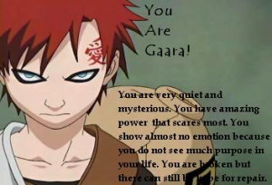Gaara Of The Sand Quotes (2)