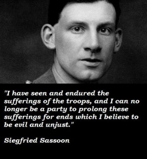 Siegfried sassoon famous quotes 3