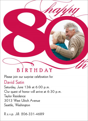 for 80th Birthday http://www.cardsdirect.com/product/1312944/80th ...