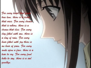 ANIME QUOTES LOVE