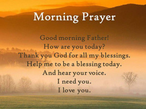 early morning prayer - photo #29