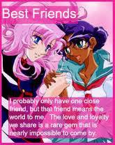 Anime Friendship Cards