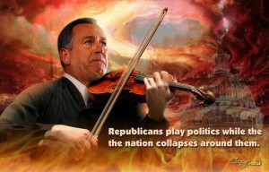 The GOP: Playing Politics While America Burns