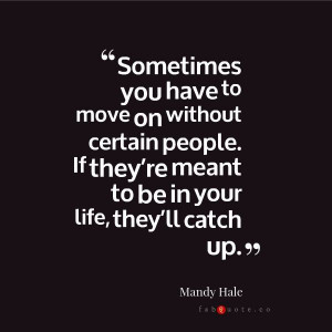 """Mandy Hale """"Moving on"""" 
