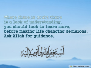 Beautiful Islamic Sayings About Various Things