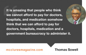 sowell quote on healthcare