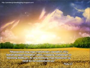 tagalog bible verse forgiveness kapatawaran