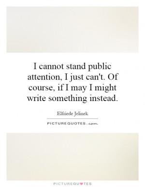 Elfriede Jelinek Quotes
