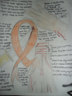 Self Harm Awareness by Read-Draw-Sing
