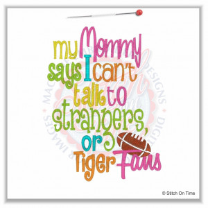 Tiger Sayings Stickers