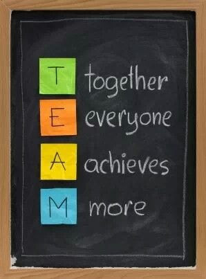 ... as not only a leader but a team member to achieve a common goal