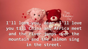 Love You Dear Loving Romantic Quotes for Couples