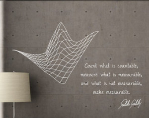 Science art Galileo Galilei inspira tional quote vinyl wall decal for ...