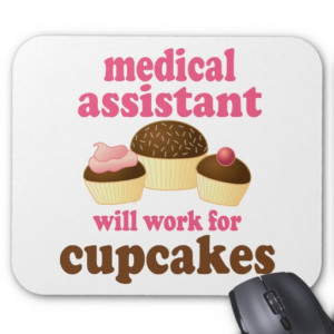 Medical Assistant Gift (Worlds Best) Mousepad