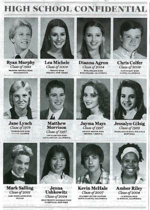 Glee Glee Cast - High School Graduation Photos