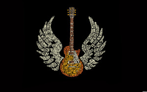 Wings of Guitar Quotes Wallpaper Best 7651 Wallpaper with 1680x1050 ...