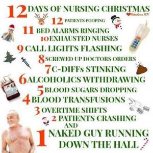 12 Days of Nursing Christmas!
