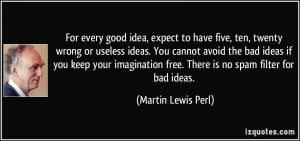 More Martin Lewis Perl Quotes