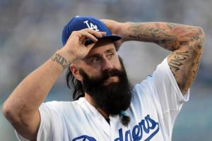 Dodgers' Brian Wilson and His Big, Bad, Black Beard Return to MLB ...