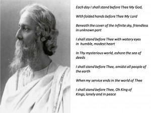 Rabindranath Tagore quotes wallpaper