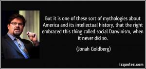 Quotes by Jonah Goldberg
