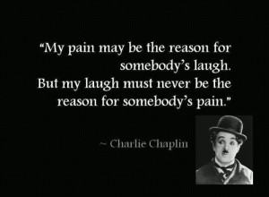 charlie chaplin, laugh, pain, quotes, text - inspiring picture on ...