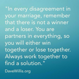Marriage. Wondering will you work in a Partnership with me, and not ...