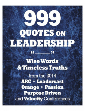 Quotes About Church Leadership