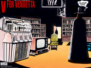 12 Days of Christmas – #6 V FOR VENDETTA by Alan Moore