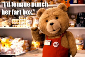 Funny Ted Picture Quotes