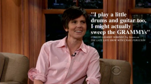 Tig Notaro Girlfriend Tig notaro on the late late