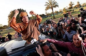 Is Negotiating with Gaddafi the Only Way Out?