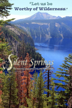 Environmental quotes wise sayings deep wild