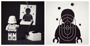 Funny photos funny Stormtrooper target practice