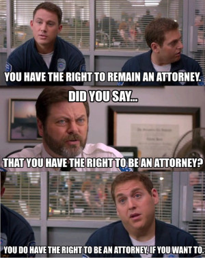 ... Tatum Has a Right To Remain An Attorney Quote In 21 Jump Street
