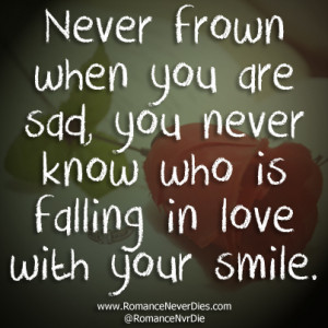 Quotes About Smiling And Falling In Love ~ Fall Love Quotes