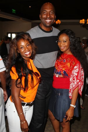 John Salley And Guests Attend The Halle Berry Celebrity picture
