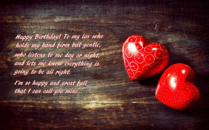 Happy Birthday I Love You Boyfriend Quotes ~ Happy Birthday To my Love ...