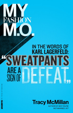 ... Fashion M.O. from author Tracy McMillan. What's your #stylemantra