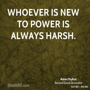 Aeschylus Power Quotes