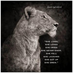 Lioness Quotes Lioness Quotes