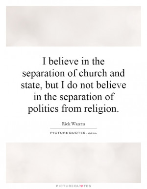 Yes There Is a Constitutional Separation of Church and State